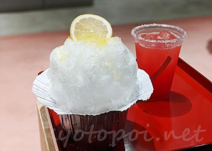お茶と酒たすき 新風館店 7月の季節さけ氷 レモンサワー