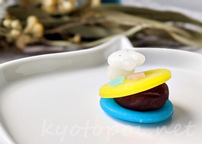 ニキニキ季節の生菓子 2020年9月のルーン