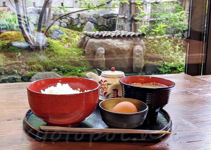 御米司ふみやの卵かけご飯