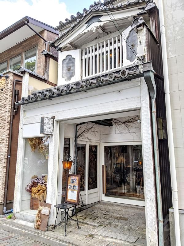 京都カシェットカフェの外観