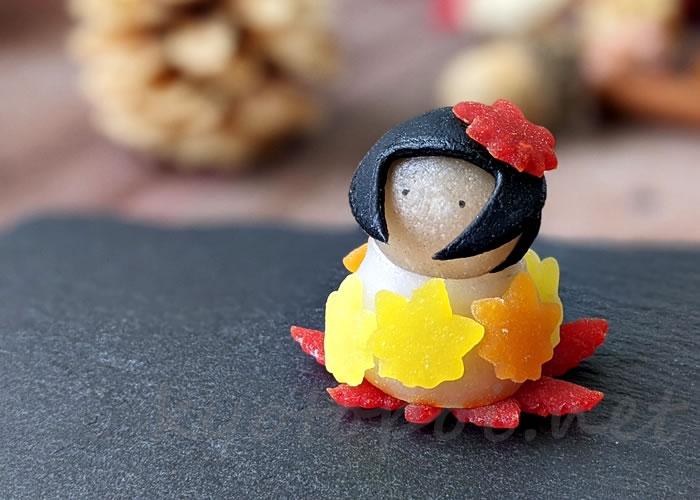 ニキニキ季節の生菓子 2020年10月のオータム