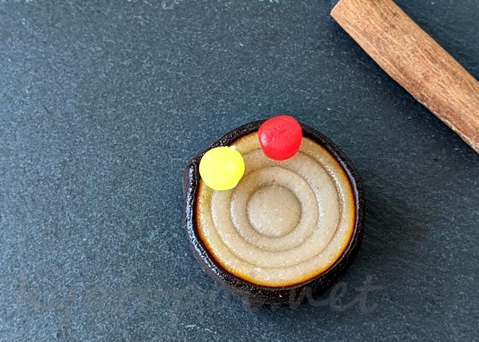 ニキニキ季節の生菓子 2020年10月のシャンピニオン