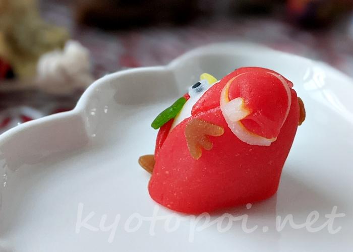 ニキニキ季節の生菓子 2020年12月のクリスマス・アマビエ