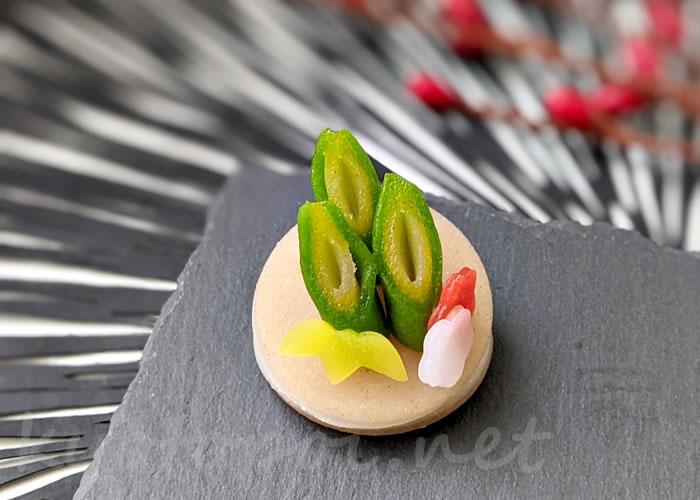ニキニキ季節の生菓子 2021年1月の門松