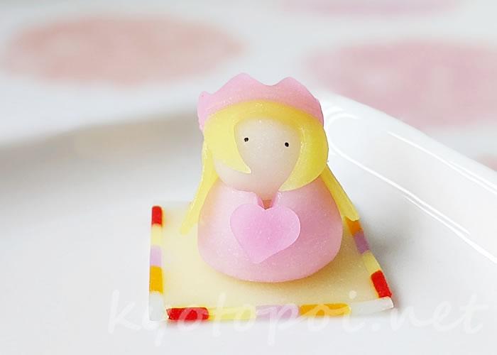 ニキニキ季節の生菓子 2021年3月のプリンセス