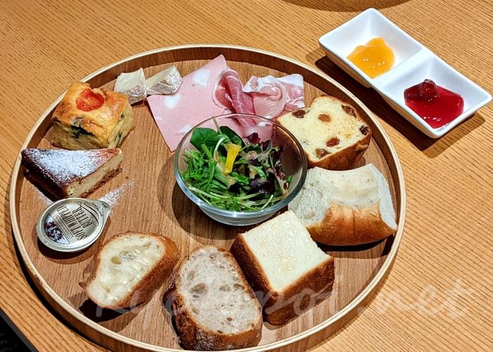 パンとエスプレッソと嵐山庭園 プレートセット