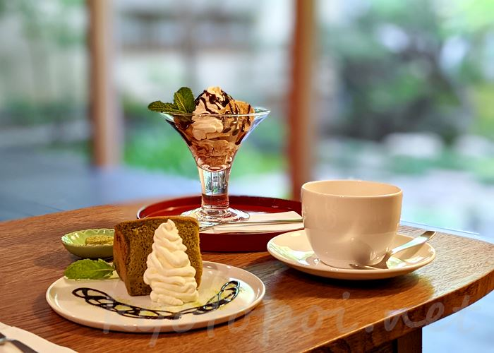 高台寺 cafe KawataRo(カフェかわたろう)スイーツ