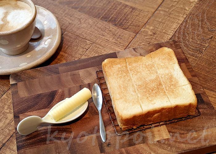嵜本さきもとのバタートースト