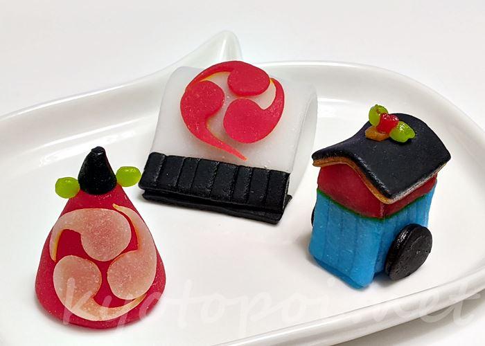 ニキニキ季節の生菓子 2021年7月の祇園祭